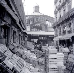 Mercat del Born, Barcelona Barcelona Catalonia, Old Photos, The Neighbourhood, Old Things, Street View, 1, Travel, Life, Image