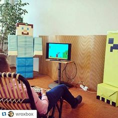 Something we loved from Instagram! It's friday #tgif! Remember to take a break while working  #retro #gaming #snes #raspberrypi #supermario #minecraft #coffeebreak #busy #friday #office #weareaffecto by weareaffecto Check us out http://bit.ly/1KyLetq