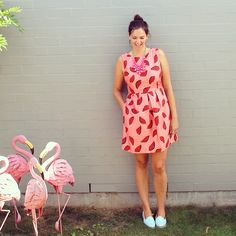 Wearing Gorman for today's #everydaystyle #watermelonprint #summerfashion