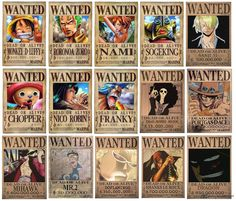 One Piece Bounties