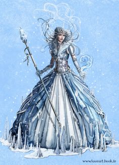 snow queen concept by laura-csajagi.deviantart.com on @deviantART