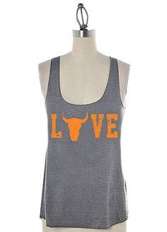 Cute tank top for the Texas heat.