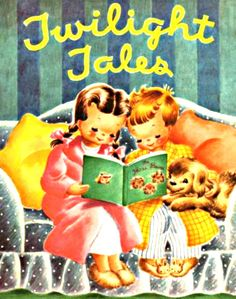 My Puzzles - Children - Vintage - Bedtime Reading with Puppy