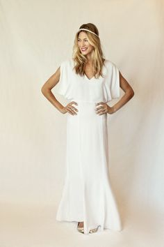 Stone Fox Bride Wren Goddess Dress http://shop.stonefoxbride.com/collections/gown/products/wren-goddess-dress