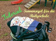 Nähprinzessin: Tutorial - Sonnensegel für die Babyschale...