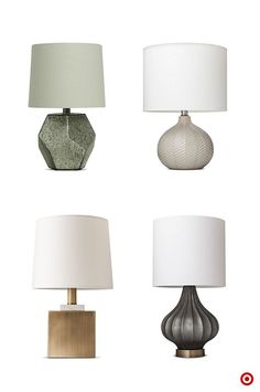 Fall statement lamps are lighting up homes. Reinvent living spaces with nature-inspired metallic tones and unique designs. Brass, bronze, charcoal, and high-sheen marbled green are the power players this season. Bold curves, geometric shapes, brushed metals, and angular lines are the ones to watch when it comes to turning the light on style. Create contrast against an accent wall, or use the neutral tones to tie-in textiles and textures throughout the room.