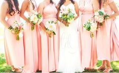 The Daintyard sells bridesmaid dresses in more than 35 colours, in short and maxi lengths. There's also fabric swatches available for a small cost, so you can ensure the colour you're after will be what you're expecting. Costs around $50 – $80 each depending on length & exchange rate.Disclosure: This is an affiliate link, and if you click the link and make a purchase I'll receive a commission. This does not increase the cost to you.