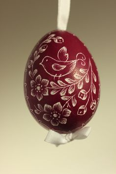 Handmade Etched/Engraved Easter Eggs by czechegg on Etsy
