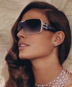"#3 Sunglasses, $408,500 The luxury Swiss house ""Chopard"" created these priciest glasses, breaking all records set before. They are covered with River diamonds and 24 carat gold."