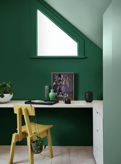 Dulux Green Paint Colours: The Best Shades for your Walls at Home Most Popular Paint Colors, Green Paint Colors, Interior Paint Colors, Interior Design, Dulux Green Paint, Dulux Paint, Dulux Color, White Walls, House Colors