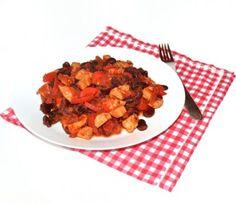 Reteta Fasole mexicana cu pui #reteta #dinner #cina #mancare Dog Food Recipes, Dinner Recipes, Supper Recipes