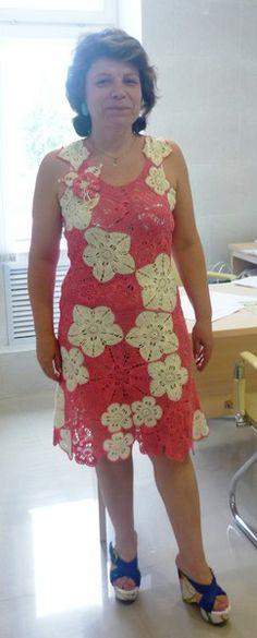 Платье - наборное кружево