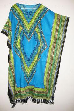 DIY Summer Caftan Dress-sew and no sew