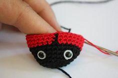 PATTERN Amigurumi Ladybug Crochet Pdf Tutorial