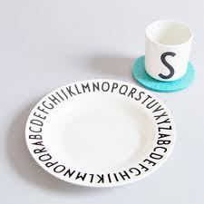 Design letters barneservise (melamin)