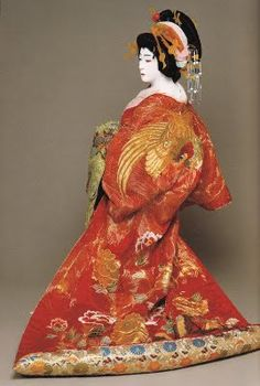 Tamasaburo Bando, famous male actor. The dance was started by a woman in the 16h century. Woman were later banned from the dance and all roles were portrayed by men. Although some years later women were allowed back in, modern Kabuki features men.