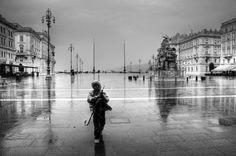 Trieste la pioggia