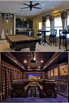Nice game room and the ultimate home theater!!!