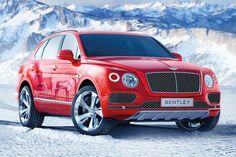 Bentley #Bentayga OH WOW I wish I can afford to buy this baby. I would saticfied  with this one. my favorite color too.