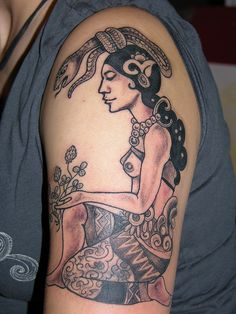 Ix Chel Goddess of the Moon by langelbleu, via Flickr