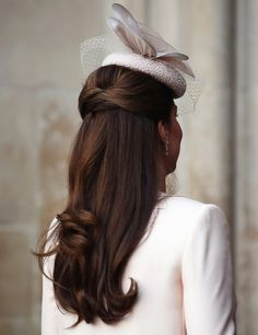 Best Kate Middleton Hair 2013. Love hair and hat style and colour.