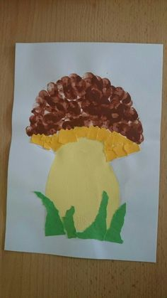 Mushroom craft idea for kids – Crafts and Worksheets for Preschool,Toddler and Kindergarten Halloween Crafts For Kids, Fun Crafts For Kids, Toddler Crafts, Art For Kids, Fall Arts And Crafts, Autumn Crafts, Autumn Art, Mushroom Crafts, October Crafts