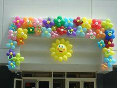 Flower ballons