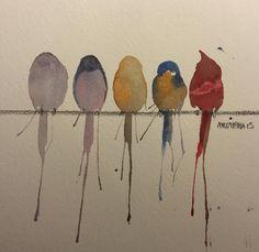 Smukke akvareller