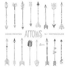 Tattoo • Geometric • Arrows •