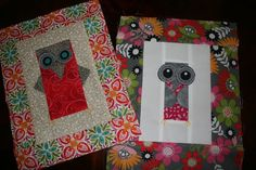 Your newest scrap quilt will be a hoot if you use your old pieces to make new owl quilt blocks. These little animals will be full of personality!