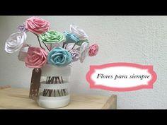 Flores de papel para siempre. Video presentación de #yomelocreo: Un canal de #manualidades en #YouTube al que recomiendo sucribirse. #Scrapbooking #Papiroflexia #Reciclaje #Regalo #HechoAMano #ConAmor