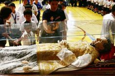 Don Bosco - his body is not corrupt.