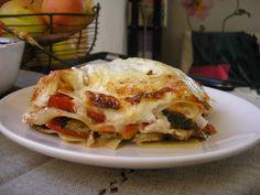 Une recette de lasagnes toute simple et sans viande.