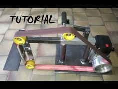 TUTORIAL BELT GRINDER! STEP BY STEP! LEVIGATRICE A NASTRO! KNIFE MAKING! - YouTube