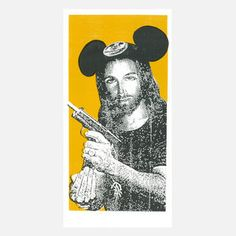 Jesus Mouse 10x20 now featured on Fab.
