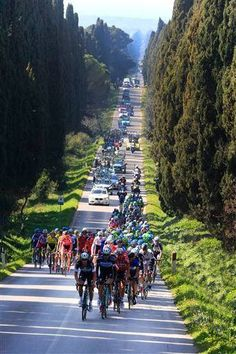 Great view of Stage 2 of the 2014 Tirreno-Adriatico