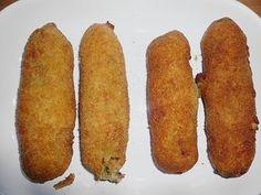 Holländische Fleischkroketten nach Onkel Dick, ein sehr schönes Rezept aus der Kategorie Geflügel. Bewertungen: 3. Durchschnitt: Ø 4,0.