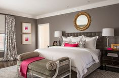 Modern bedroom ideas for small rooms full size of modern bedroom design ideas for small rooms Master Bedroom Interior, Budget Bedroom, Small Room Bedroom, Modern Bedroom, Bedroom Decor, Small Bedrooms, Decorating Bedrooms, Decorating Ideas, Hot Pink Bedrooms