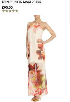 Erin Printed Maxi Dress