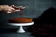 Sametový čokoládový dort