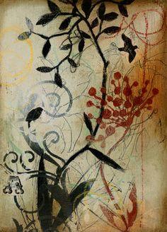 Botanical Mist IV by DeRosier - DE326A - GalleryDirect