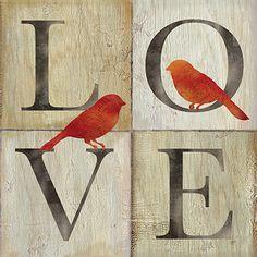 RB6736CC <br> Live/Love Bird II <br> 12x12