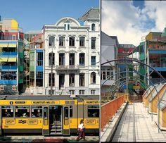 """Los edificios más impresionantes del mundo (según arquitectos) - - Forbes - Casa Hubertus (Ámsterdam, Países Bajos)  """"Para una institución que acogió y protegió a las madres solteras en igualdad de condiciones, el edificio es a partes iguales lúdico y digno. Se trata de un proyecto contemporáneo de colores en acero, vidrio y hormigón que es, no obstante, respetuoso de los edificios vecinos más tradicionales"""", Randy Deutsch, arquitecto en Deutsch Insights y profesor adjunto de arquitectura en…"""