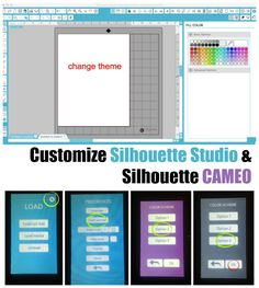How to Customize Silhouette CAMEO and Silhouette Studio ~ Silhouette School