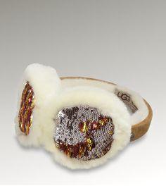 UGG Sparkle Camo Earmuff Accessories $85
