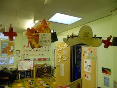 My children had so much fun making different hats for our 'people who help us' theme. They used them for role play for a week. At the end of the session, we hung them up so they could use them the next day.