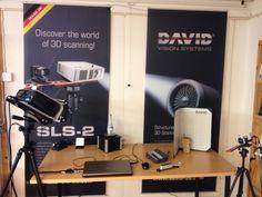 3D-skannerit: RangeVision, David SLS-2, Sense, Structure.