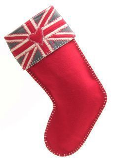 Union jack stocking