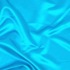 bff Dull Satin Turquoise Fabric - Special Occasion