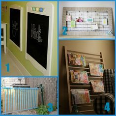Need to re-purpose that old drop-side crib?  Here are some ideas that just might keep a few of these out of the landfill.